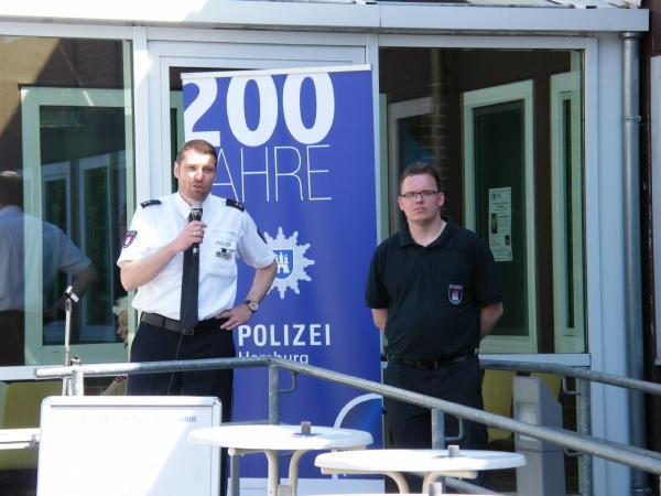 Eröffnung des Tages der offenen Tür durch POR Jens Lodahl und WF Mischa Beyer beim PK 26 (c) FFO