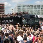 Empfang der WM-Mannschaft in Berlin am 15.07.2014. (c) D. Frommer