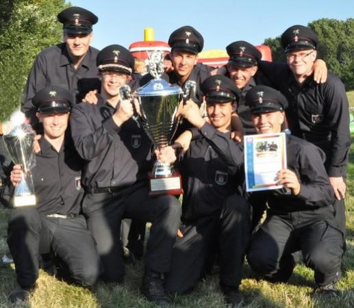 Siegermannschaft 2013