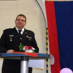 Nach den Ehrungen und Geschenken richtete der Jubilar noch einige Worte an seine zahlreich erschienenen Gäste (c FFO)