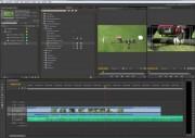 Adobe Premiere Arbeitsumgebung mit dem Beginn der Schnitt und Vertonungsarbeiten