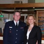 Der Jubilar mit seiner Frau Tanja