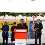 Ansprache des Wehrführers Stefan Hertzog