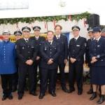 Gruppenfoto der Führungskräfte mit der Polizei Hamburg