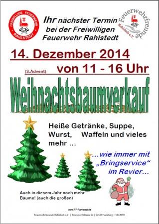 Weihnachtsbaumverkauf der ff rahlstedt freiwillige - Weihnachtsbaumverkauf hamburg ...