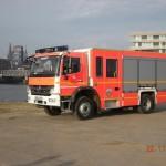 Ein Bild vor der Hafencity, das neue LF-KatS der FF Schnelsen (c) D. Frommer FF SCHNL