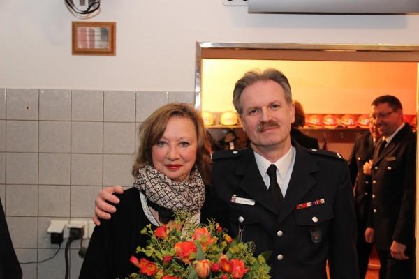 Holger und Sabine.