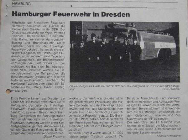 Zeitungsausschnitt (© Fro)
