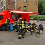 Versorgungsstelle der Einsatzkräfte - Bild: D. Schäfer