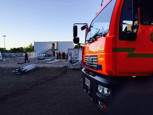 Am Donnerstag waren die Wehren Altona, Osdorf und Eppendorf eingesetzt (c) FF ALT