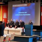 Totenehrung mit der Feuerwehrpastorin Erneli Martens (c) AG MuK