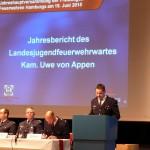LJFW Uwe von Appen erläutert die Geschicke der JF Hamburg (c) AG MuK