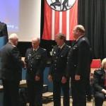 Ehrung der Kam. Stengel, Schack und Habeck(c) AG MuK