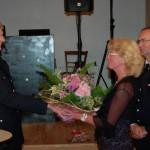 Natürlich auch Glückwünsche und ein riesen Dankeschön von Wehrführer Heiner Meyns an Heinz und seiner Regina