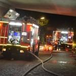Hier brennt das 1. Reetdachhaus in Wilhelmsburg - Bild: Citynewstv.de