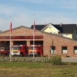 Endlich fertig: Das neue Feuerwehrhaus der FF Kirchwerder-Süd. © L. Rieck