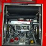 FP 24/8 Bedienstand (seit der Baureihe 2000 werden FP 24/8 gem. der neuesten Norm f. LF 16/12 eingebaut. Das LF 16/12 wird künftig als LF 20/16 bezeichnet.)
