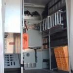 Koffer-Geräteraum, Beladung rechte Seite
