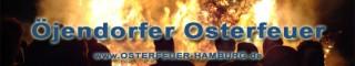 Öjendorfer Osterfeuer-Banner