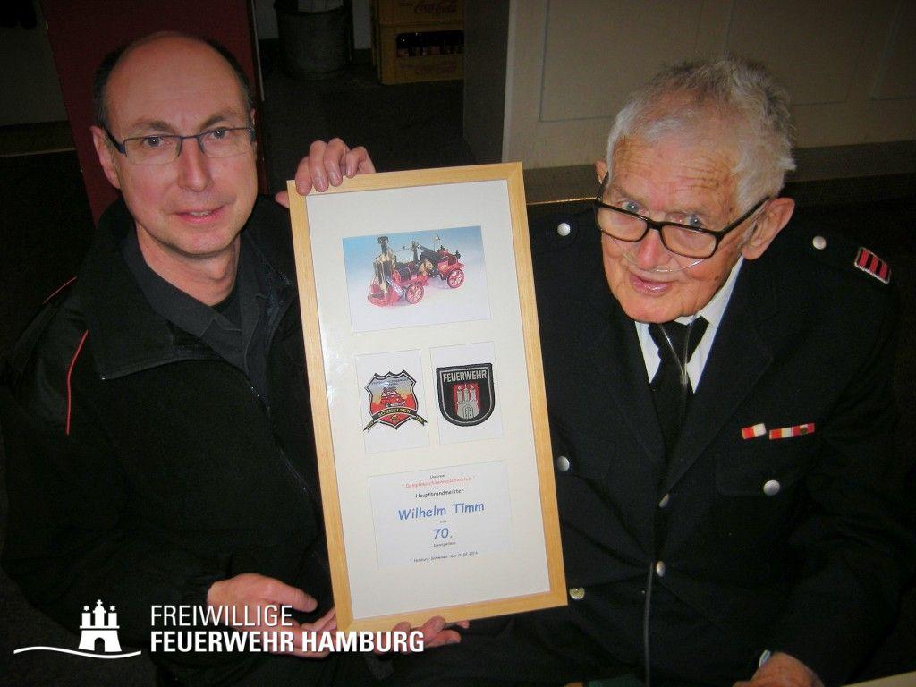 HBM Wilhelm Timm (rechts) mit WFV Jan Hamer Foto: D.Frommer
