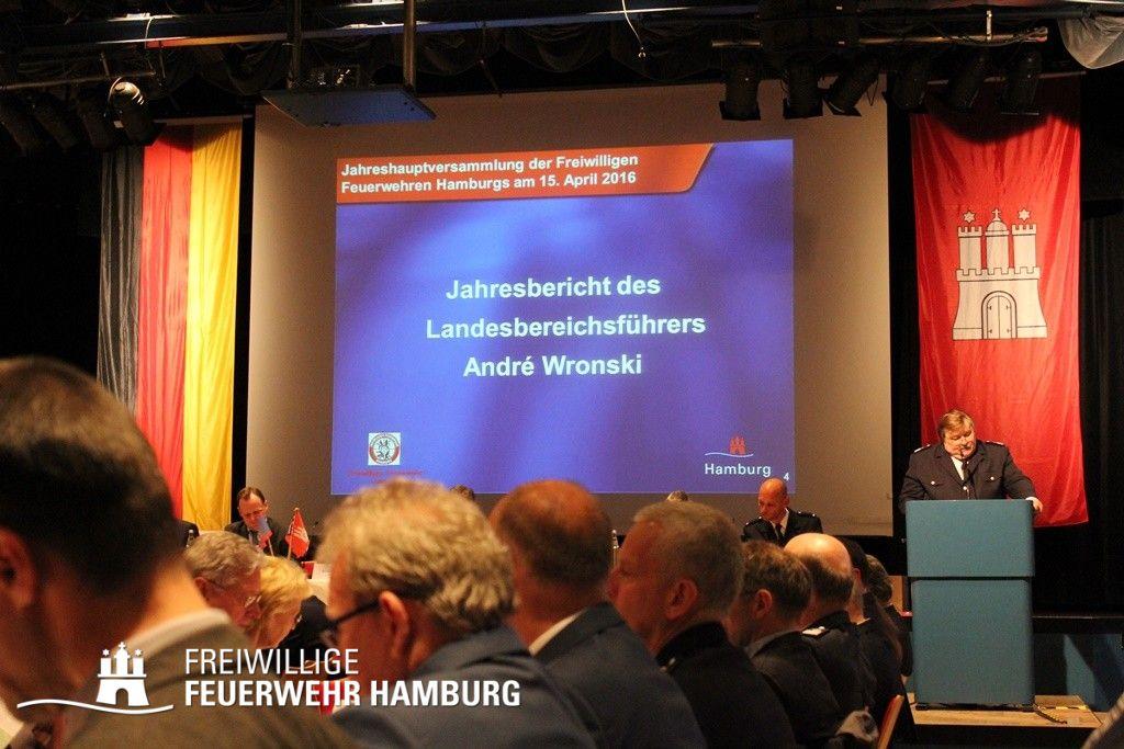 Jahresbericht des Landesbereichsführers André Wronski