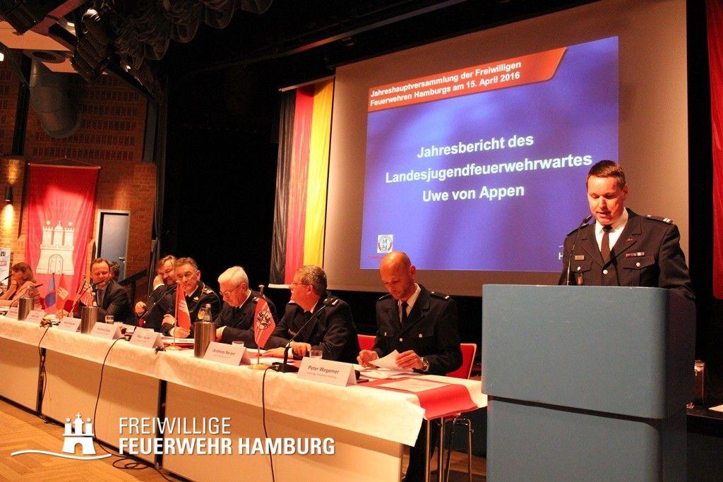 Jahresbericht des Landesjugendfeuerwehrwartes Uwe von Appen