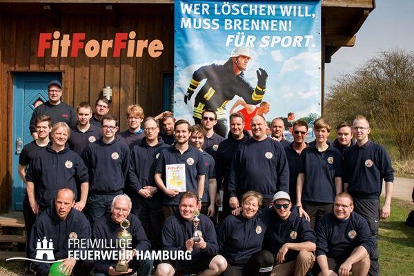 Siegermannschaft FF Osdorf