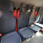 Bequemere Sitzmöglichkeiten erhöhen den Komfort der Kameraden.