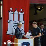 Ernennung von Kamerad J. Scharper zum Feuerwehrmann