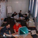 Programmierarbeit bei der FF Lokstedt