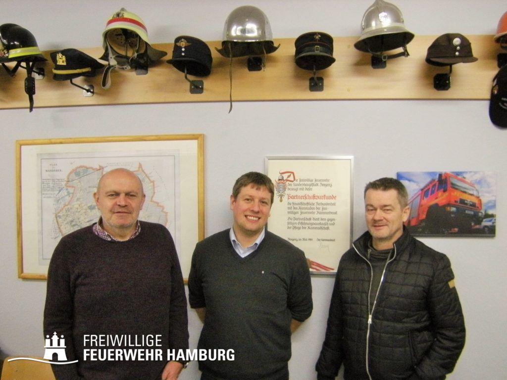 (v.l.) J. Gressmann, J. Hinterkeuser und G. Längle (© Fro)