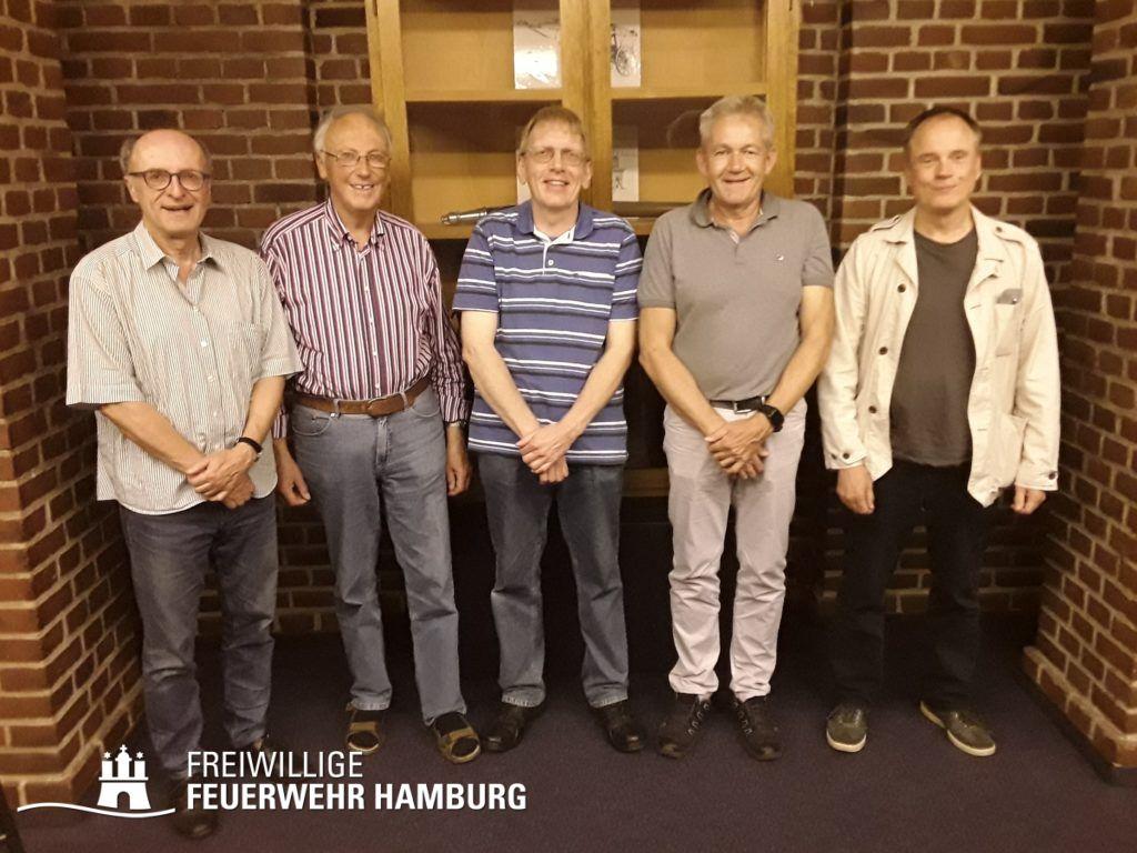 C.Tiedemann, E.-H.Tonn, M.Molzahn, D.Jeschke, Dr. S.Kappus (© Fro)