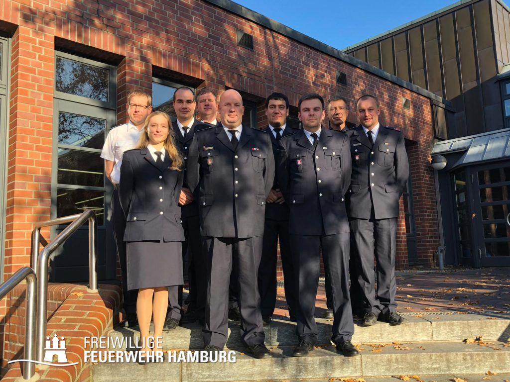 Sieben neue Zugführer der FF