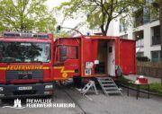 Gerätewagen Fernmelde + Anhänger Führen und Lage der FF Altona